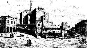 Joseph George Cumming - Rushen Castle was a subject of Cumming's study