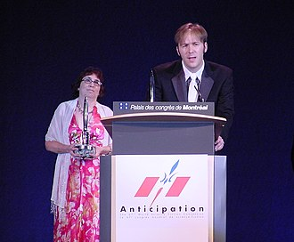 Hugo Award for Best Semiprozine - Stephen H. Segal accepting the 2009 Hugo Award for Best Semiprozine for Weird Tales