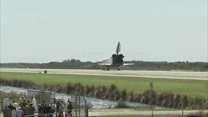 File:STS-133 landing.ogv