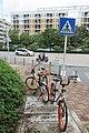 SZ 深圳 Shenzhen 寶安 Bao'An 文衛路 Wenwai Road July 2017 IX1 Qianjin Road bike bicycle parking.jpg