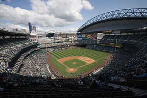 Das Safeco Field im April 2007