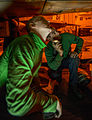 Sailors conduct aircraft maintenance aboard USS Carl Vinson 150216-N-TP834-324.jpg