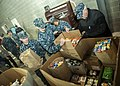 Sailors organize a Thanksgiving food giveaway. (11087931376).jpg