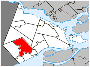 Saint-Polycarpe, Quebec - Image: Saint Polycarpe Quebec location diagram