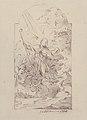 Saint Januarius Saving Naples from an Eruption of Mt. Vesuvius. Verso- Small sketch of similar scene. MET 49.116.16.jpg
