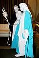 Saint Joseph, Mary Living Statues Sydney (9430126676).jpg