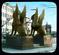 Saint Petersburg. Bank Bridge view of the gryphons at the end of the bridge.jpg