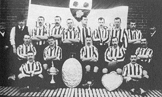 1899–1900 Southampton F.C. season - Image: Saints FC 1899 1900