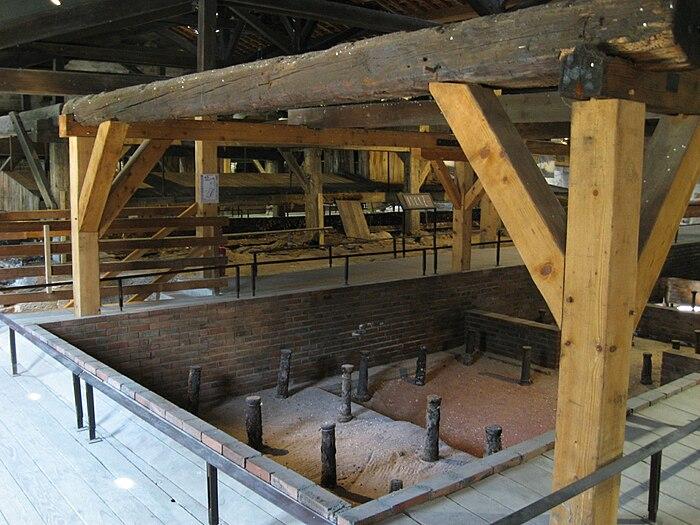 Anciennes salines royales de salins les bains for Salins les bains