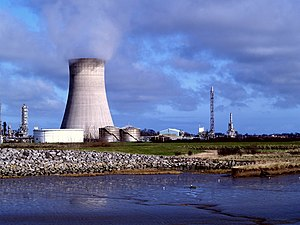 Salt End - Image: Saltend Power Station seen from Paull Haven