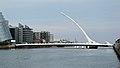 Samuel Beckett Bridge & River Liffey, Dublin (507162) (32004746183).jpg