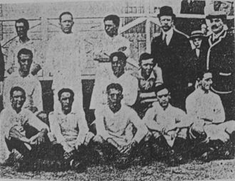 Club Atlético San Isidro - The squad that won the Tie Cup in 1912.