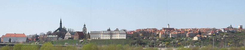Stare Miasto w Sandomierzu - panorama