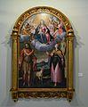 Sant Joan Baptista i santa Bàrbara venerant a la Mare de Déu, Pieter van Lint, Museu de Belles Arts de València.JPG