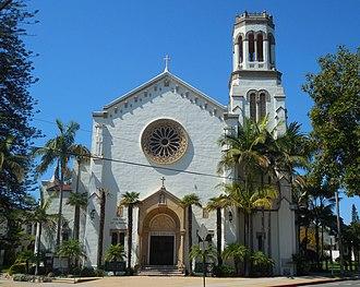 Our Lady of Sorrows Church (Santa Barbara, California) - Image: Santa Barbara CA Our Lady Of Sorrows Church 20170912