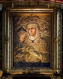 Santa Giustina (Padua) - Chapel of Saint Luke - Madonna of Constantinople Sixteenth-century version