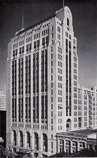 Dallas - Santa Fe Terminal Complex on Commerce St, built in 1924