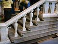 Santo Stefano al Ponte, scalinata del buontalenti, dettaglio 03.JPG