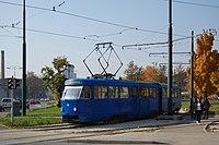 Sarajevo Tram-210 Line-1 2011-10-31.jpg