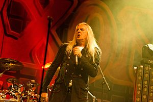 "Saxon (band) - Singer Peter ""Biff"" Byford at the Rockharz Open Air 2016"
