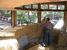 Alternative natural materials wikipedia for Alternative home building methods