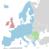 The Schengen area