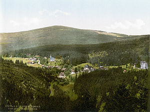 Schierke - Schierke around 1900 as a photochrom from the Library of Congress collection