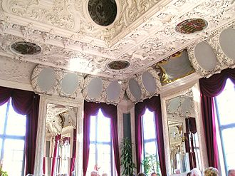 Marie Hedwig of Hesse-Darmstadt - The Hesse hall in Elisabethenburg Palace