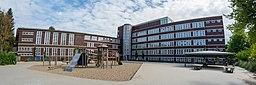 Schule Beim Pachthof (Hamburg-Horn).Hofseite.1.13081.ajb