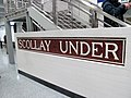 Scollay Under tile sign (2) at Government Center, March 2016.JPG