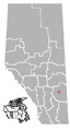 Scotfield, Alberta Location.png