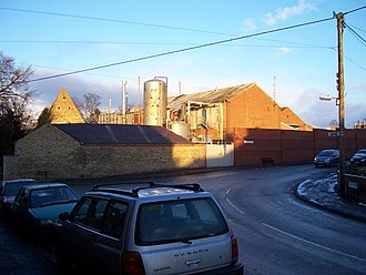Wollaston, Northamptonshire - Scott Bader chemical works