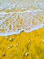 Sea waves in srilanka beach.jpg