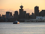Vancouver is the business capital of British Columbia
