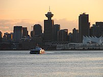 Vancouver is the business capital of British C...