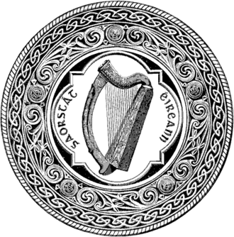 Constitution of the Irish Free State - The Great Seal of the Irish Free State, used in the state from 1924.