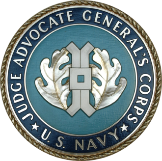 Judge Advocate General's Corps, U.S. Navy - Image: Seal of the United States Navy Judge Advocate General's Corps