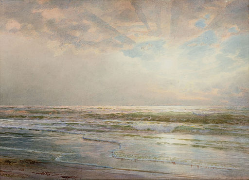 Seascape-William Trost Richards-1901