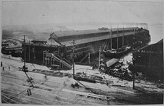 Pier 1, Seattle - Pier 1 circa 1915