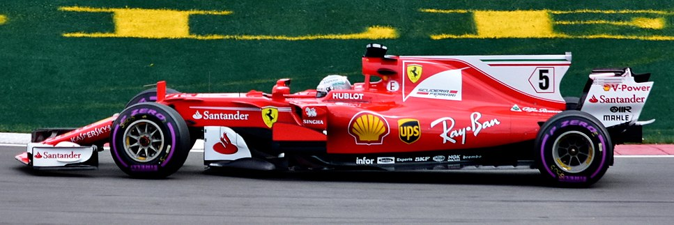 Sebastian Vettel driving the Ferrari SF70H (35329684512)
