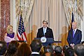 Secretary Kerry Delivers Remarks at the Holiday Reception for the Diplomatic Corps and Their Spouses (11329215123).jpg