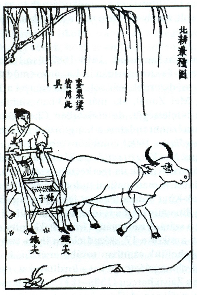 Seeding machine - technology from the time of the Ming dynasty
