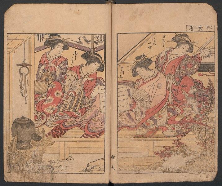 File:Seiro Bijin Awase Sugata Kagami-Mirror of the Beautiful Women of the Yoshiwara Brothels MET JIB31 009.jpg