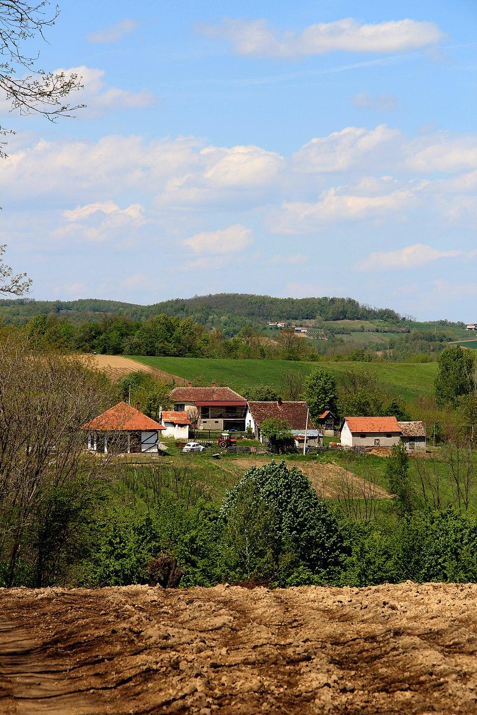 Selo Jazovik - opština Valjevo - zapadna Srbija - panorama 2