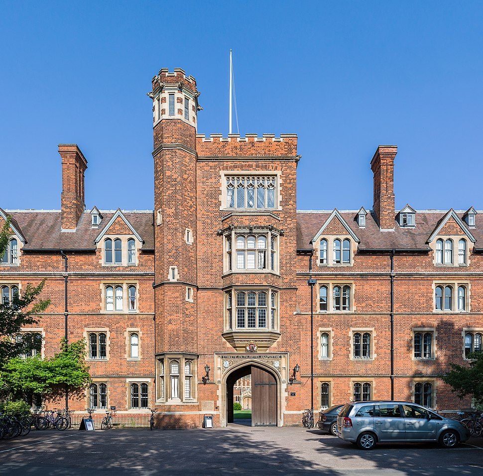 Selwyn College Gatehouse Tower, Cambridge, UK - Diliff