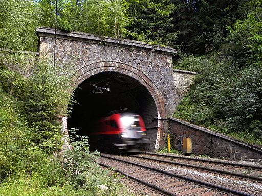 Semmering - Semmeringbahn - Weberkogel-Tunnel I