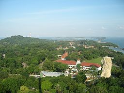 Sentosa viewed from the Carlsberg Sky Tower, Singapore - 20060716-03.jpg