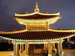 Seosangdae - Hwaseong Fortress - Nighttime - 2008-10-23.JPG