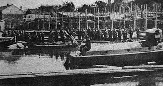 """Serbian River Flotilla - Serbian river patrol boat """"Jadar"""""""