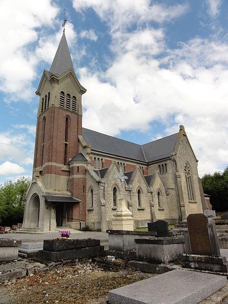 Servais (Aisne) église